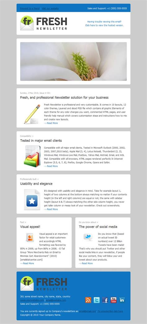 25 best email templates images on pinterest email