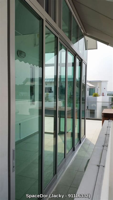 Sliding Glass Door Decor Decor Aluminium Sliding Glass Doors Design Ideas With Green Glass Door Plus Tile Flooring