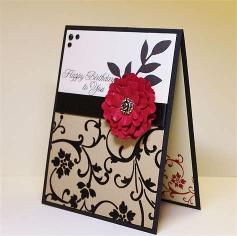 How To Handmade Cards - 17 best ideas about birthday cards on