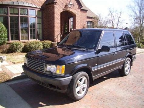 range rovers for sale in alabama find used 2002 land rover range rover hse in gadsden