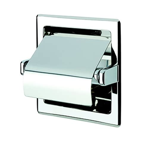 recessed toilet paper holder with shelf shop nameeks standard hotel chrome recessed toilet paper