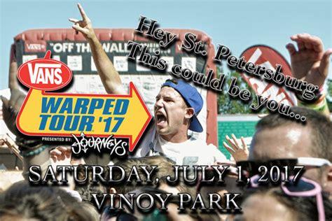 Vip Ticket Giveaway Reviews - vip ticket giveaway warped tour 2017 st petersburg fl vinoy park saturday