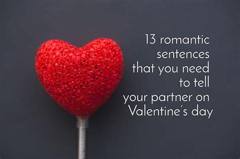What I Want For Valentines Day by 13 Sentences That You Need To Tell Your Partner