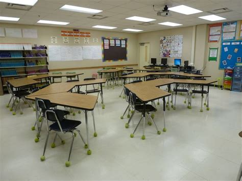 desk for 6 year 25 best ideas about classroom table arrangement on