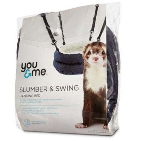 slumber swing you me slumber and swing plush bed for ferrets crafty