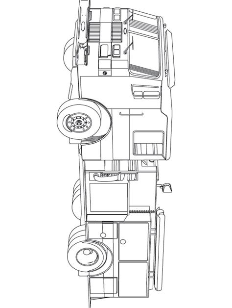 free fire truck coloring pages az coloring pages