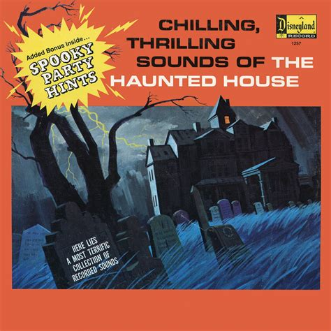 Chilling Thrilling Sounds Of The Haunted House by Chilling Thrilling Sounds Of The Haunted House 1964 Disneyland Records Soundtrack Lp Cd