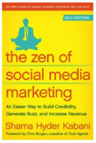 the handbook of social media books zen of social media marketing mind of miller