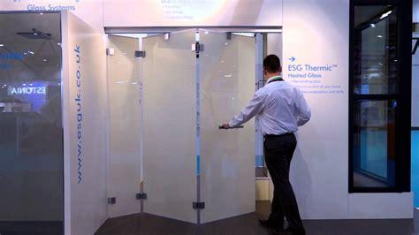 Frameless Bi Fold Glass Doors Bi Folding Frameless Doors From Esg Featuring Esg Switchable Lcd Privacy Glass