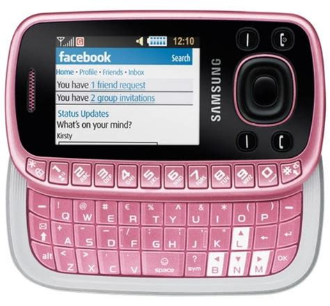pink mobile phone samsung b3310 pink sim free unlocked mobile phone
