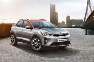 Suv Kia 2018 Kia Stonic Small Suv Officially Unveiled