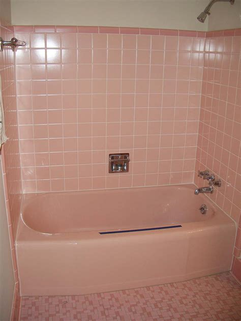 vintage pink bathroom tile a family rebuilds and restores a 1953 kitchen to its