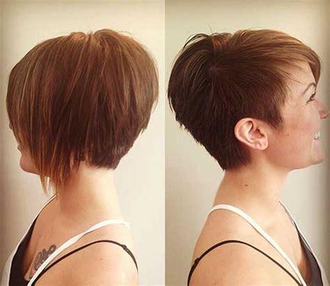 back view asymmetrical pixie 20 best asymmetrical pixie pixie cut 2015