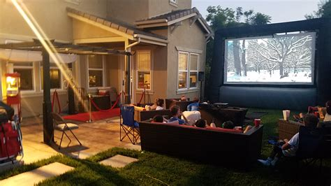backyard movie night rental fun night cinema outdoor movie night rentals movie