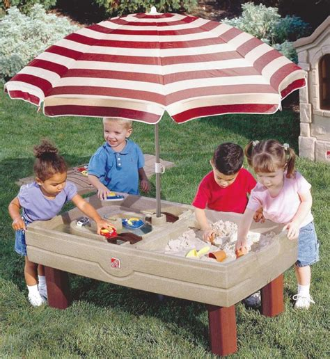 Step 2 Water Table With Umbrella by Water Sand Table Step 2 Images