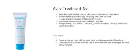 Murah Wardah Acne Treatment Gel wardah halal cosmetics