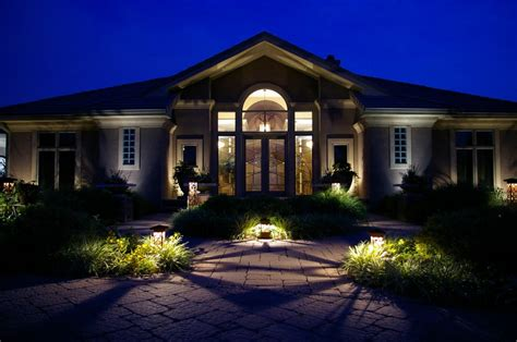 Landscape Lighting In Miami Beautiful Landscape Lighting Design For Your Home Front