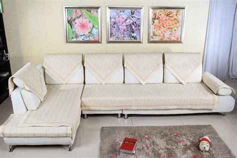 cover para sofa grey beige embroidered sofa covers capa de sofa i shaped