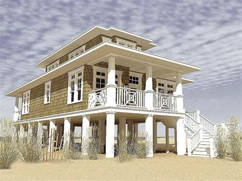 House Floor Plans On Stilts by Affordable Modern Stilt House Plans With Solid Substrates