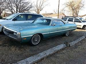 1969 Chrysler Newport 1969 Chrysler Newport For Sale Garden City Kansas