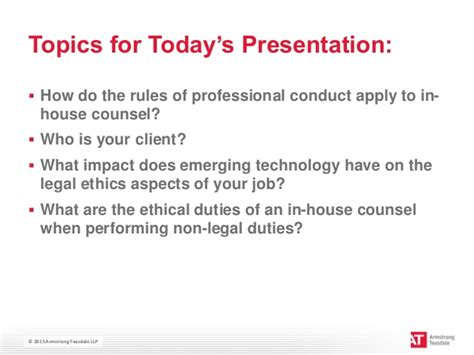 in house counsel jobs how to avoid trouble legal ethics for in house counsel featuring lar