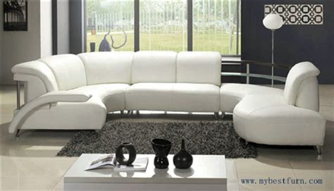 white leather sofa free shipping fashion design