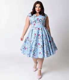 1950 s retro plus size dresses pin up to swing dresses