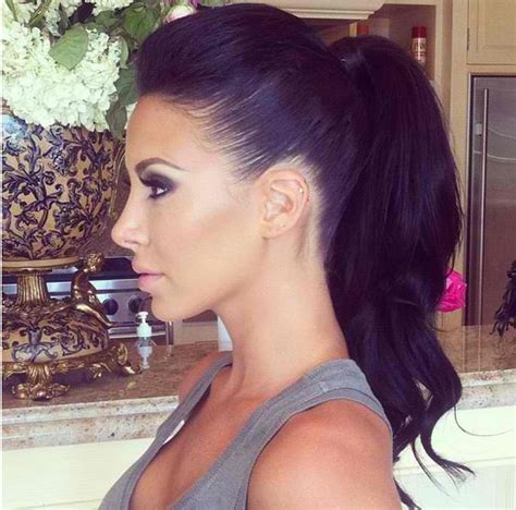 how to slicksides poof ponytail hairstyles will never be out of fashion the