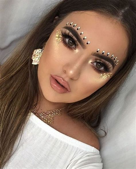 Stabilo Lipstik Bling Bling Murah be modern gypsy how to wear gem makeup every occasion rhinestone makeup jewels and