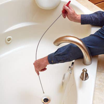 how to use plumbing snake 2016