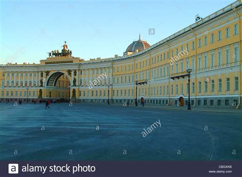 St Square palace square st petersburg seat of the 1917 russian
