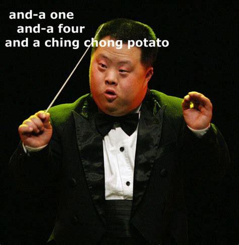 Cing Memes - ching chong potato retard asian conductor satv365 flickr