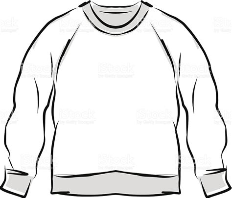 sweater template blank sweater template abstract sweatshirt sketch for your