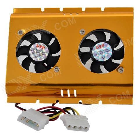 Fan Cooler Harddisk Big Fan dual cooling fan for 3 5 quot hdd disk drive free