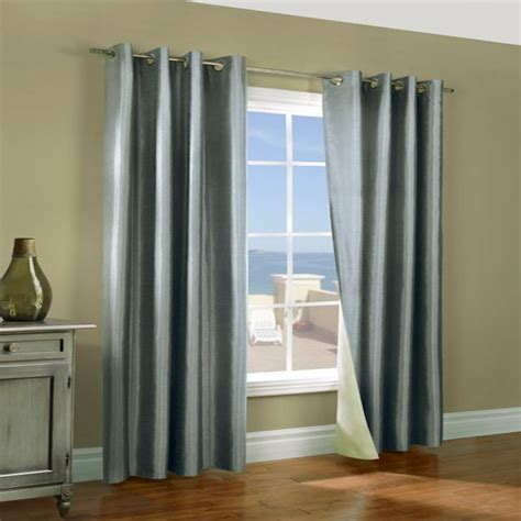 reversible luxury faux silk curtains miller aqua insulated thermalogic faux silk reversible