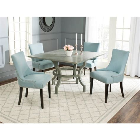 Safavieh Ludlow Ash Gray Dining Table Amh6645b The Home Grey Ash Dining Table