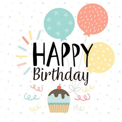 imagenes de happy birthday sister fondo de feliz cumplea 241 os con tarta y globos descargar