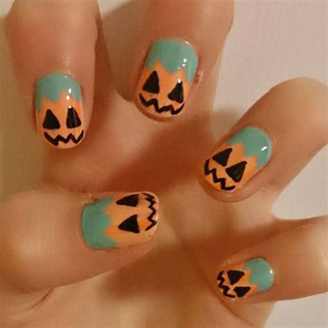 pumpkin nail design 15 pumpkin nails designs 2016 fabulous
