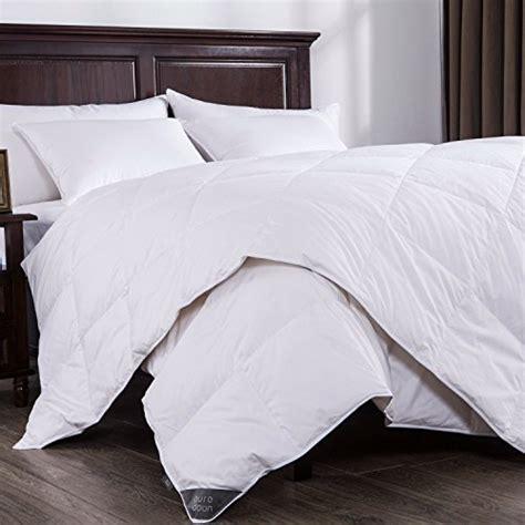 Puredown Lightweight White Down Comforter Light Warmth