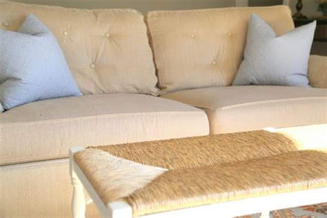 fix sofa cushions quick fix for tired sofa cushions the decorologist