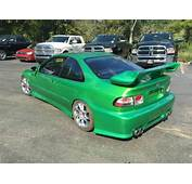 1994 Honda Civic Coupe Highly Modified Lowered Audiobahn