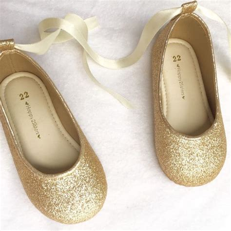 gold shoes for toddlers gold flats flats and shoes on