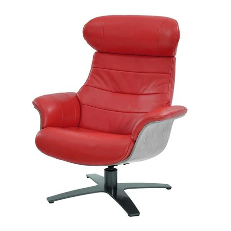 Enzo Leather Recliner Chair by Enzo Leather Swivel Chair El Dorado Furniture