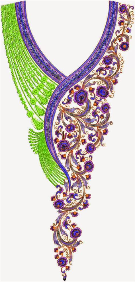 embroidery design on kurti hand embroidery designs for kurtis neck hand embroidery