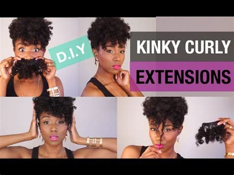 curly hair solutions | diy curly clip in extensions