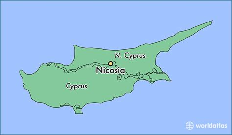 middle east map nicosia where is nicosia cyprus nicosia lefkosia map