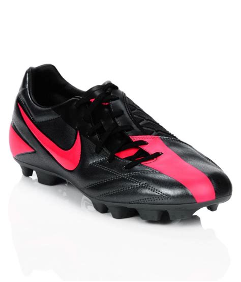 Nike T90 Black nike t90 shoot iv hg b football shoes studds unisex black