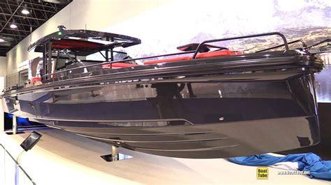 boat show 2018 2018 brabus shadow 800 yacht by axopar walkaround 2018
