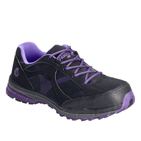 nautilus safety footwear s black static dissipating