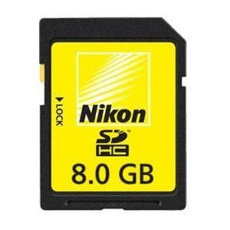 Memory Card Kamera Nikon nikon 8gb sdhc high speed memory card memory cards readers accessories cameras